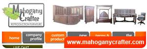 Mahogany Crafter Furniture