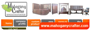 Mahogany Crafter Furniture